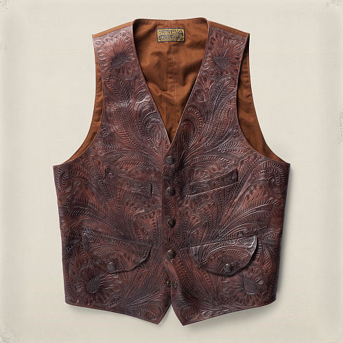 Limited Edition Leather Vest 85545666