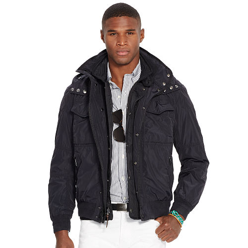 Hooded Bomber Jacket 88200396