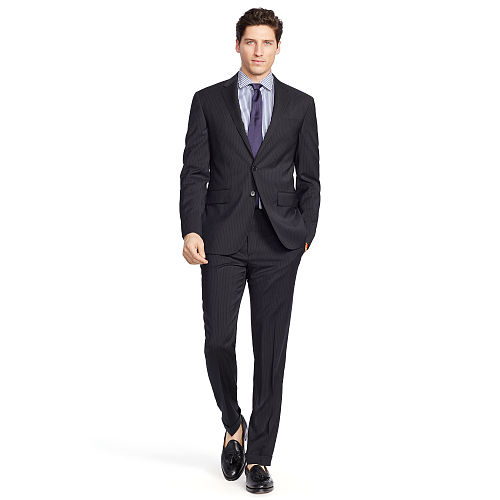 Polo Striped Wool Suit 82502756
