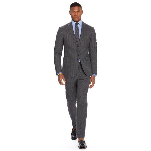 Polo Pinstriped Wool Suit 83569256