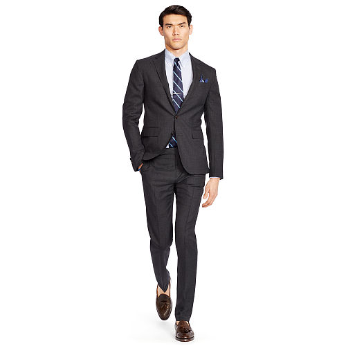 Polo Glen Plaid Wool Suit 83569266