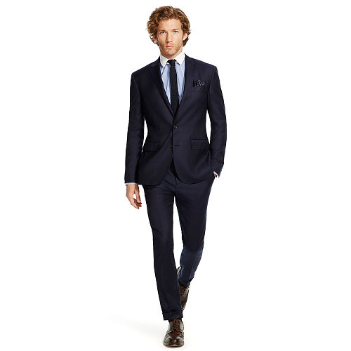 Polo Wool Twill Suit 74227216