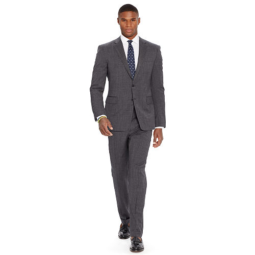 Connery Pin Dot Wool Suit 82502766