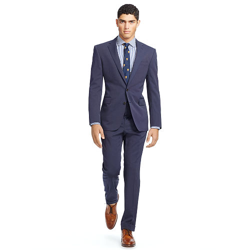 Connery Pin Dot Wool Suit 83569236