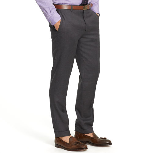 Slim Fit Wool Twill Trouser 42164086