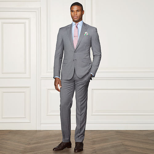Anthony Pinstriped Wool Suit 83760616