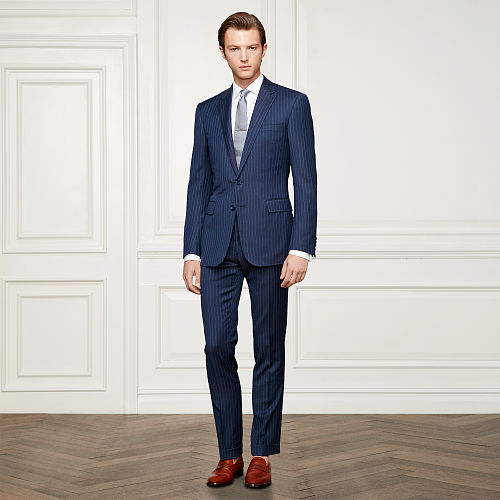Anthony Pinstriped Wool Suit 89235916