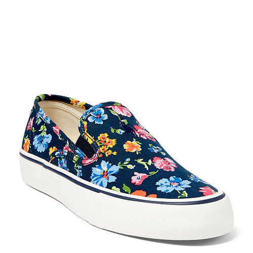 Floral Canvas Slip On Sneaker 87369806