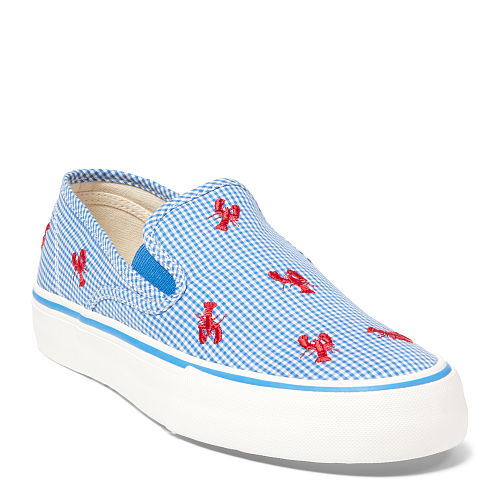 Lobster Gingham Canvas Sneaker 87369816