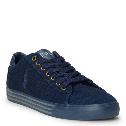 Harvey Indigo Knit Sneaker 78189096