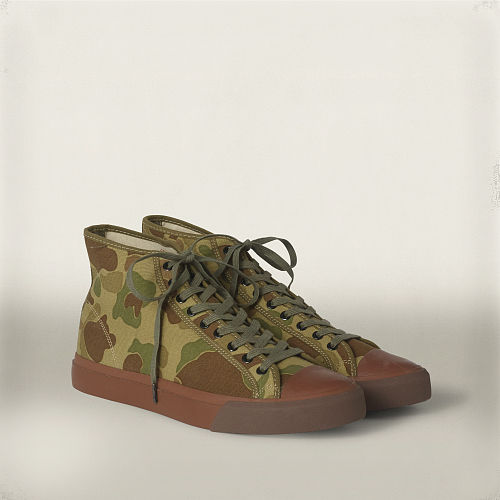 Mayport Camouflage Sneaker 84547226