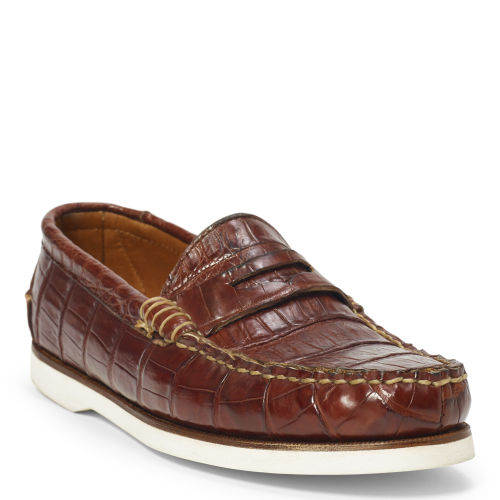 Tamworth Crocodile Boat Shoe 78189146