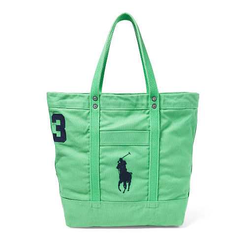 Big Pony Canvas Tote 94431546