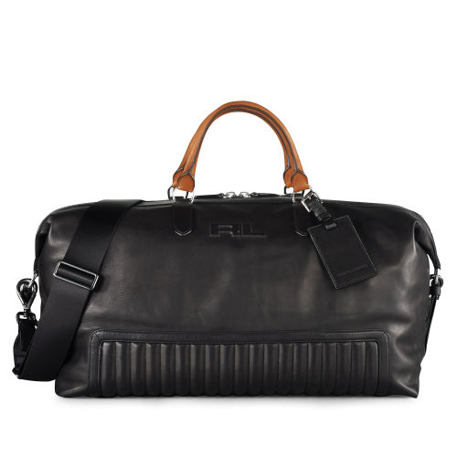 Quilted Leather Duffel Bag 13360564