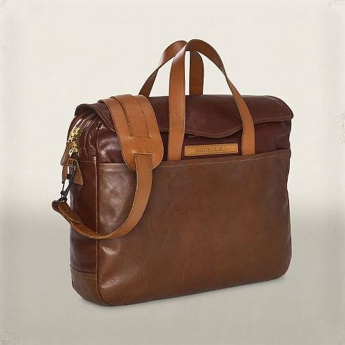 A Leather Briefcase 89071266