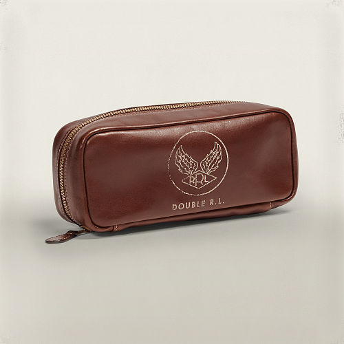 A Leather Travel Bag 89071276