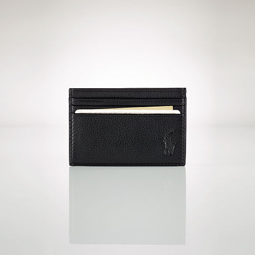 Pebble Leather Card Case 70475146