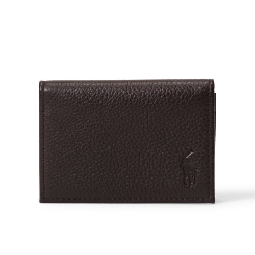 Gusseted Leather Card Case 70475196