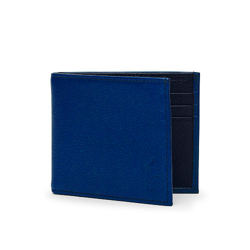 Two Toned Leather Wallet 88845576