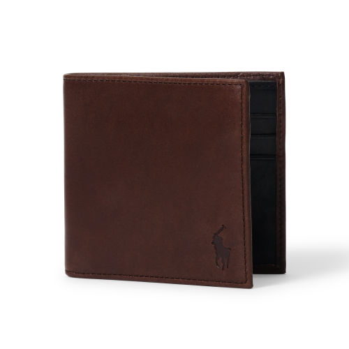 Contrasting Leather Wallet 70475586