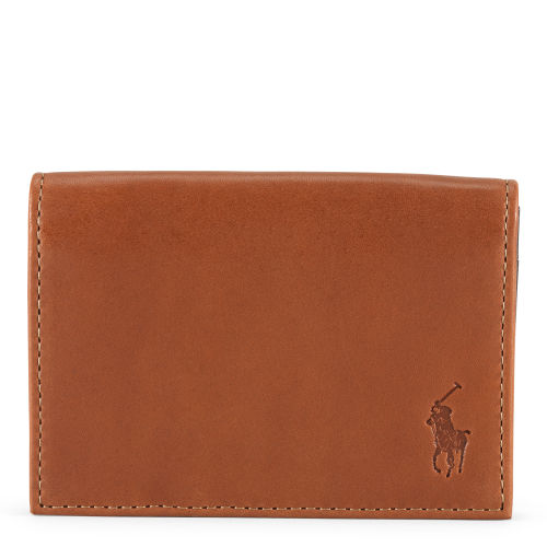 Gusseted Leather Card Case 70475426