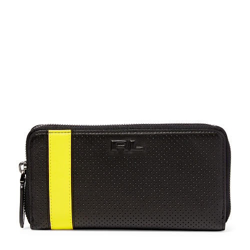 Perforated Zip Around Wallet 85889036