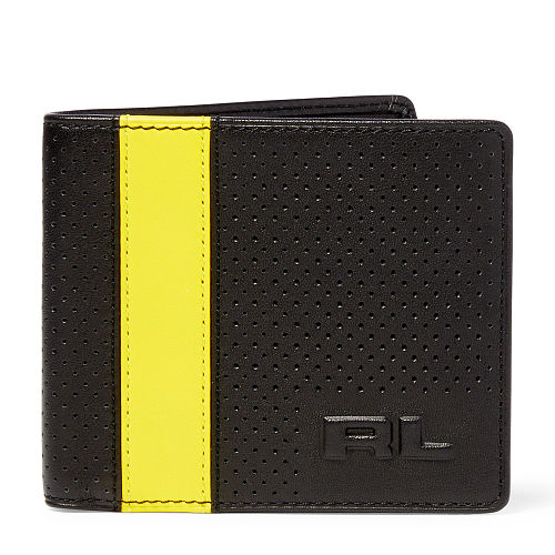Perforated Leather Billfold 85889016