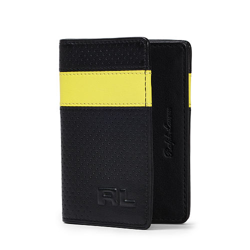 Perforated Leather Card Case 85889026