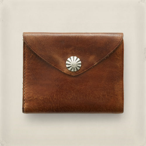 Concho Leather Wallet 41552766