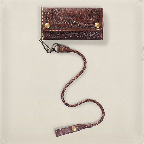 Tooled Leather Surveyor Wallet 82569236
