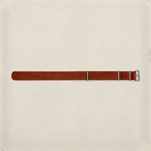 Roughout Suede Watch Strap 82569196