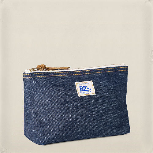 Selvedge Denim Pouch 82569286