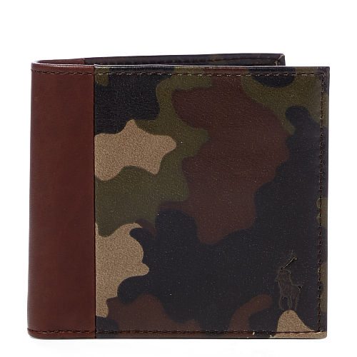 Camo Leather Wallet 88845646