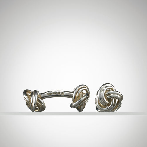 Knot on Bar Cuff Links 3978696