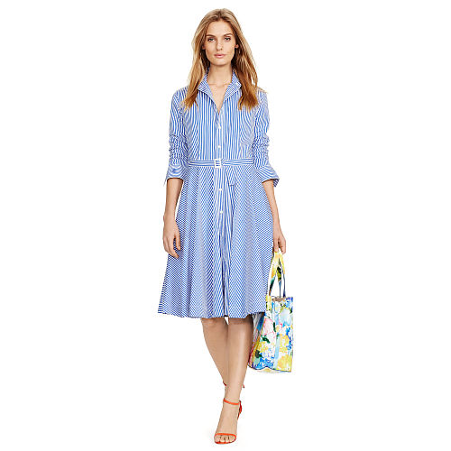 Bengal Striped Shirtdress 87041136