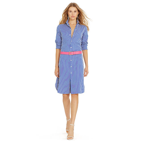Bengal Striped Shirtdress 90496036
