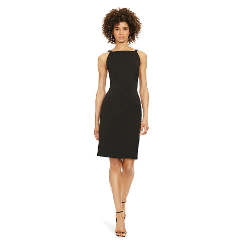 Side Cutout Ponte Dress 91836816