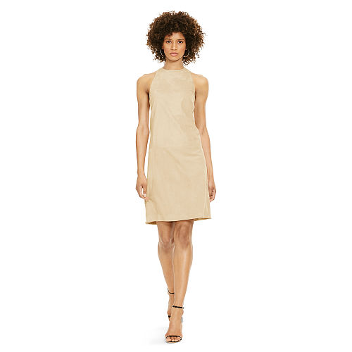 Suede Shift Dress 91837106