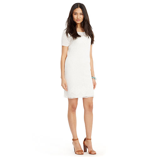 Crocheted Cotton Dress 91762126