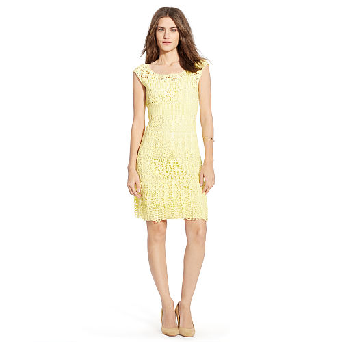 Crocheted Cotton Dress 91762136