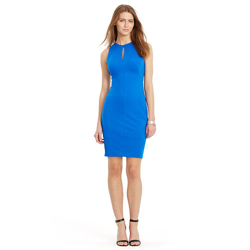 Keyhole Ponte Sheath Dress 91762686