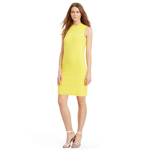 Ribbed Sleeveless Dress 91762766