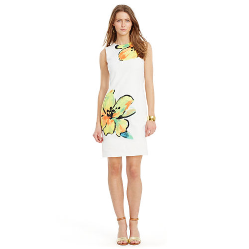 Floral Print Sheath Dress 94391256