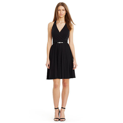 Surplice Jersey Dress 94391286