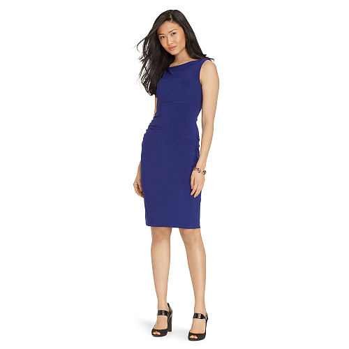 Cowl Back Jersey Dress 88463066