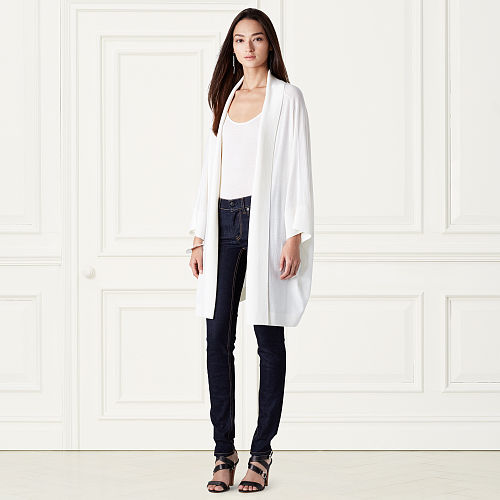 Oversized Merino Wool Cardigan 79164376