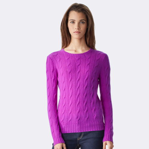 Cable Knit Cashmere Sweater 79164346