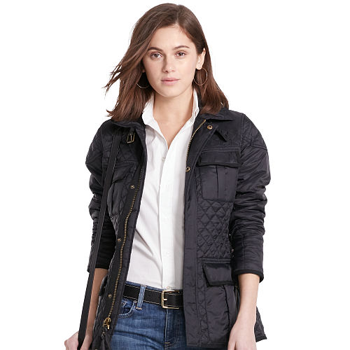Quilted Full Zip Jacket 87040556