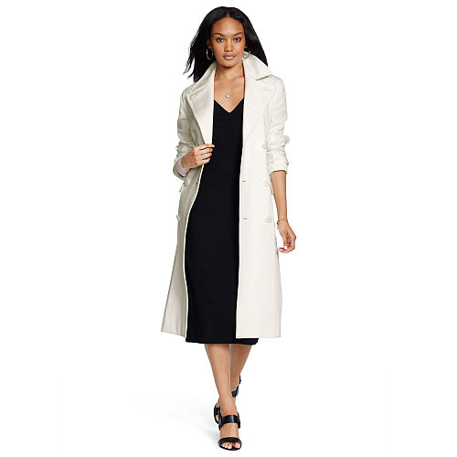 Double Breasted Cotton Coat 82502296