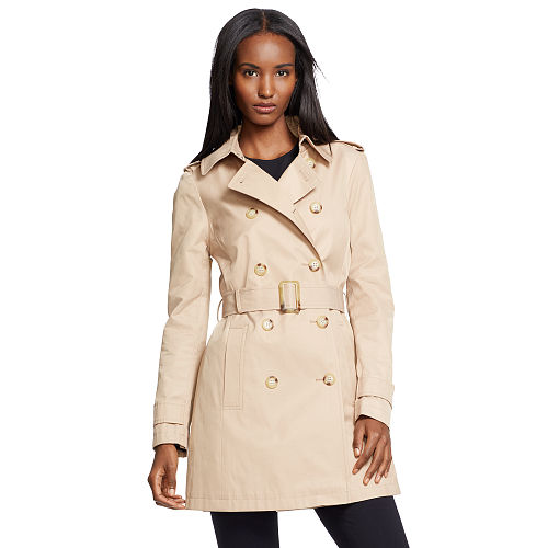 Double Breasted Trench Coat 86560416